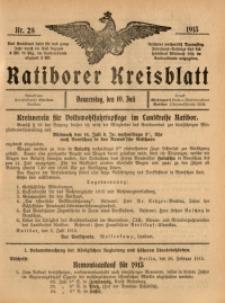 Ratiborer Kreisblatt, 1913, nr29