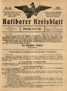 Ratiborer Kreisblatt, 1913, nr30