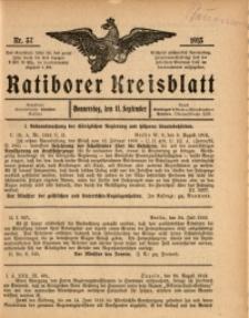 Ratiborer Kreisblatt, 1913, nr37