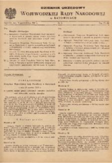 Dziennik Urzędowy Wojewódzkiej Rady Narodowej w Katowicach, 1959, nr5