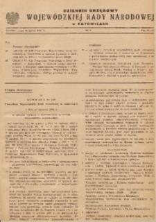 Dziennik Urzędowy Wojewódzkiej Rady Narodowej w Katowicach, 1961, nr4