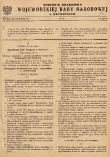 Dziennik Urzędowy Wojewódzkiej Rady Narodowej w Katowicach, 1961, nr10