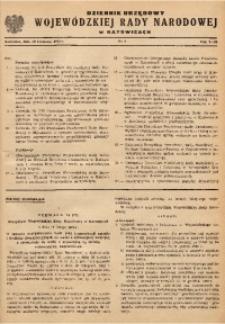 Dziennik Urzędowy Wojewódzkiej Rady Narodowej w Katowicach, 1962, nr2