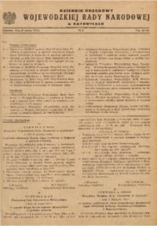 Dziennik Urzędowy Wojewódzkiej Rady Narodowej w Katowicach, 1963, nr2