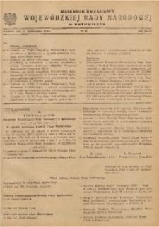 Dziennik Urzędowy Wojewódzkiej Rady Narodowej w Katowicach, 1963, nr10