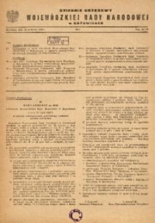 Dziennik Urzędowy Wojewódzkiej Rady Narodowej w Katowicach, 1964, nr7