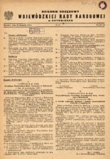 Dziennik Urzędowy Wojewódzkiej Rady Narodowej w Katowicach, 1964, nr11