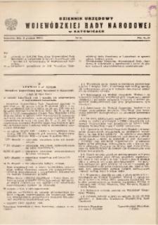 Dziennik Urzędowy Wojewódzkiej Rady Narodowej w Katowicach, 1966, nr11