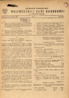 Dziennik Urzędowy Wojewódzkiej Rady Narodowej w Katowicach, 1967, nr6