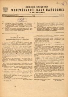 Dziennik Urzędowy Wojewódzkiej Rady Narodowej w Katowicach, 1967, nr8