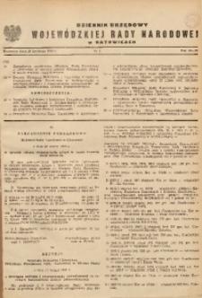 Dziennik Urzędowy Wojewódzkiej Rady Narodowej w Katowicach, 1969, nr4