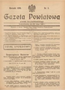 Gazeta Powiatowa Powiatu Świętochłowickiego, 1936, nr9