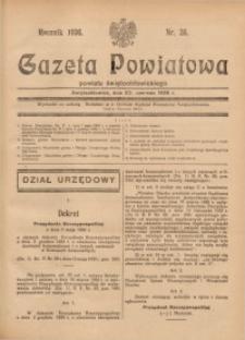 Gazeta Powiatowa Powiatu Świętochłowickiego, 1936, nr26