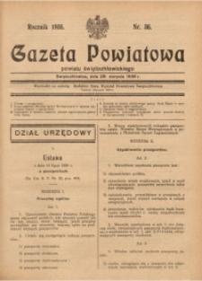Gazeta Powiatowa Powiatu Świętochłowickiego, 1936, nr36