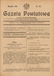 Gazeta Powiatowa Powiatu Świętochłowickiego, 1936, nr40