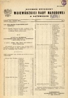 Dziennik Urzędowy Wojewódzkiej Rady Narodowej w Katowicach, 1984, nr3