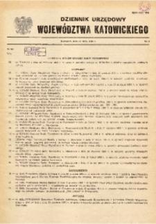 Dziennik Urzędowy Wojewódzkiej Rady Narodowej w Katowicach, 1985, nr3