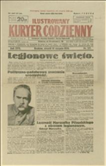 """Artykuły o uroczystościach """"Święta Legionowego"""" w dniu 08.08.1926 r."""