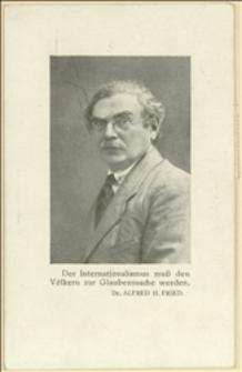 Karta pocztowa z pozdrowieniami Józefa Gesierich z Wiednia dla Tadeusza Regera