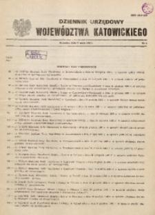 Dziennik Urzędowy Województwa Katowickiego, 1986, nr4