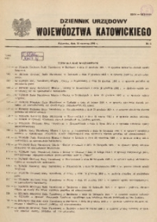 Dziennik Urzędowy Województwa Katowickiego, 1986, nr6