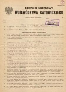 Dziennik Urzędowy Województwa Katowickiego, 1987, nr2