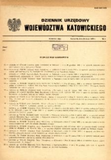 Dziennik Urzędowy Województwa Katowickiego, 1989, nr4