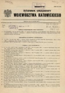 Dziennik Urzędowy Województwa Katowickiego, 1990, nr1