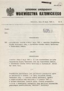 Dziennik Urzędowy Województwa Katowickiego, 1990, nr8