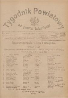 Tygodnik Powiatowy na Powiat Lubliniecki, 1926, nr 46