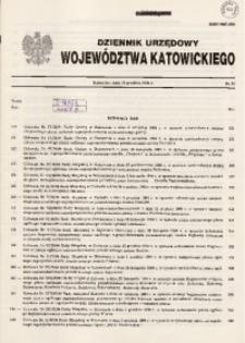 Dziennik Urzędowy Województwa Katowickiego, 1994, nr15