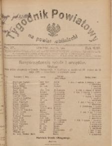Tygodnik Powiatowy na Powiat Lubliniecki, 1927, nr27