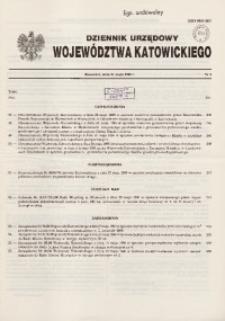 Dziennik Urzędowy Wjewództwa Katowickiego, 1996, nr9