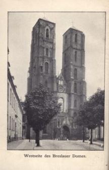 Die Breslauer Domkirche. Ihre Geschichte und Beschreibung