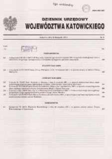 Dziennik Urzędowy Województwa Katowickiego, 1997, nr31