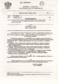 Dziennik Urzędowy Województwa Katowickiego, 1998, nr7