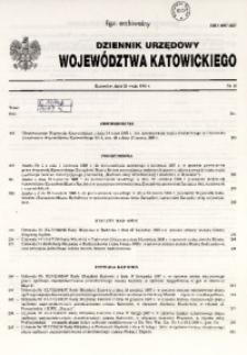 Dziennik Urzędowy Województwa Katowickiego, 1998, nr16