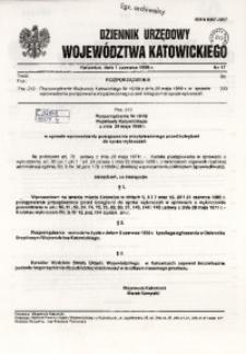 Dziennik Urzędowy Województwa Katowickiego, 1998, nr17