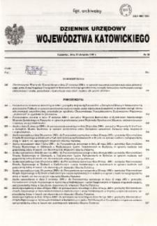 Dziennik Urzędowy Województwa Katowickiego, 1998, nr26