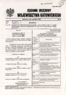 Dziennik Urzędowy Województwa Katowickiego, 1998, nr36
