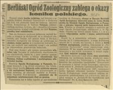 Berliński Ogród Zoologiczny zabiega o okazy konika polskiego