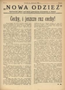 Nowa Odzież, 1936, R. 3, nr 4