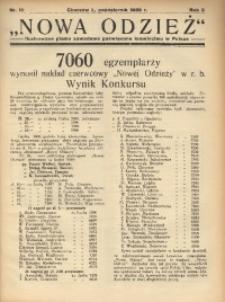 Nowa Odzież, 1936, R. 3, nr 10