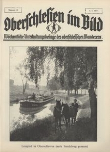 Oberschlesien im Bild, 1927, nr 28