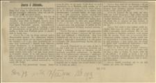Gawęda Jury i Jonka z rocznika 73 z dnia 17.9.1920 r. Nr 193
