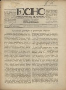 Echo Pracownika Śląskiego, 1931, R.12, nr7-8