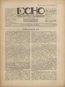Echo Pracownika Śląskiego, 1931, R.12, nr10