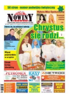 Nowiny Nyskie 2015, nr 52-53.