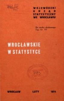 Wrocławskie w statystyce
