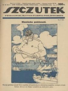 Szczutek, 1922, R. 5, nr 40
